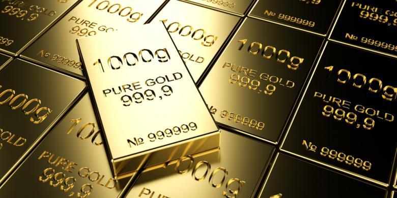 Harga Emas Antam Hari Ini Rp 587 000 Per Gram Kompas Com