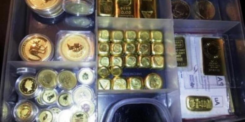 Emas 80 Ons Dan Perak 75 Kg Diangkut Pencuri Pakai Gerobak Kompascom