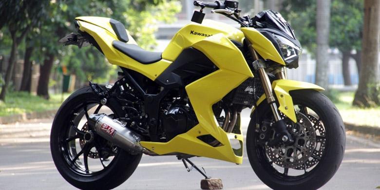 Kawasaki Z250 Bekas Kecelakaan Makin Kekar Kompas Com