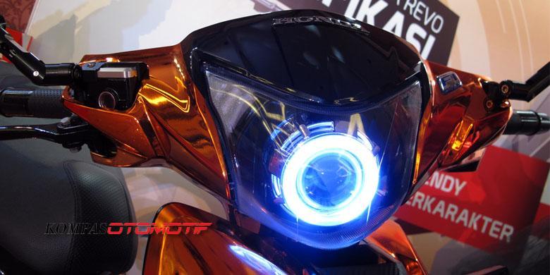 Permak Ringan Honda New Revo Fi Gaya Harian