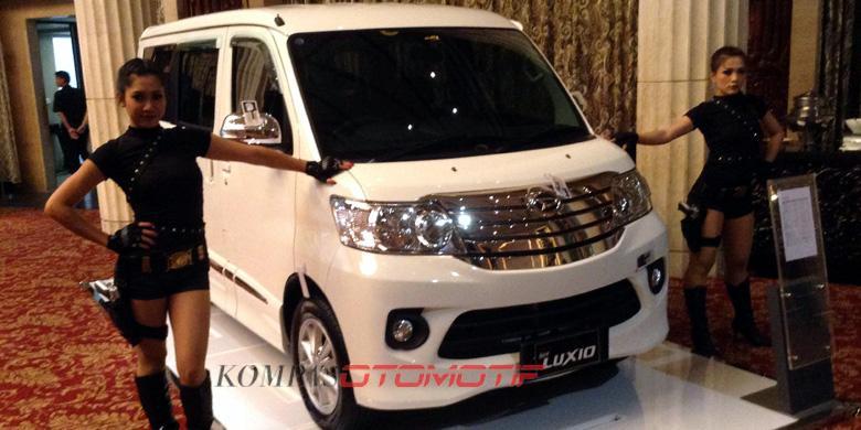 New Daihatsu Luxio Ditargetkan 500 Unit Setiap Bulan