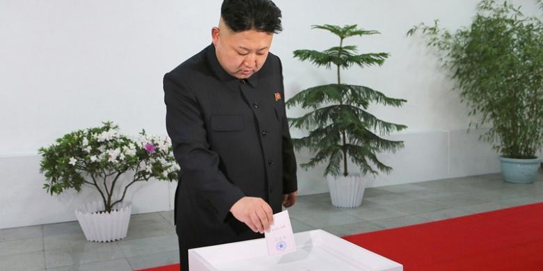 Hasil gambar untuk pemilu korut