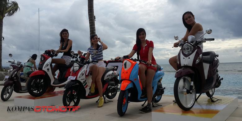 Cara Mempertahankan Kilau Warna Atraktif Sepeda Motor Kompas Com