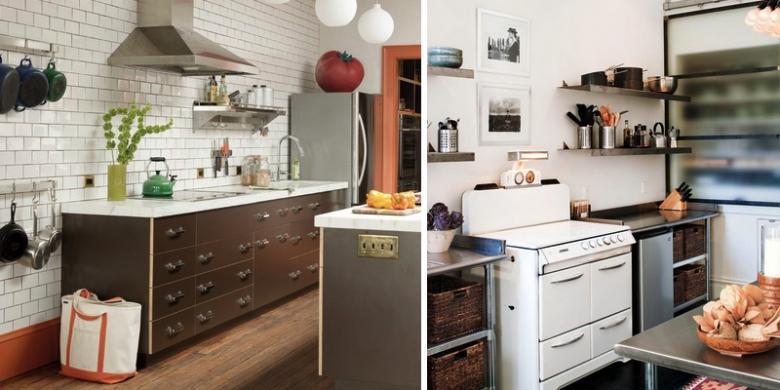 Tahu Cara Praktis Segarkan Dapur Tak Mahal Kok