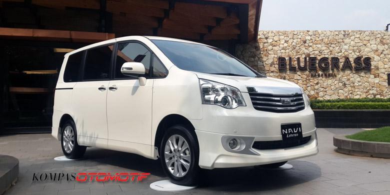 Produksi Lokal Toyota NAV1 Diberhentikan