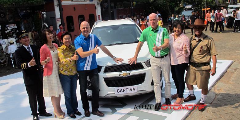 Chevrolet Captiva Facelift Meluncur Harga Berubah Kompas
