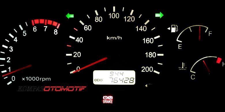 Odometer Digital Mobil Sulit Diakali