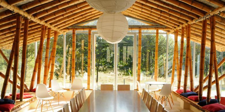 Arsitek Dunia Makin Tergila gila dengan Bambu  Kompas com