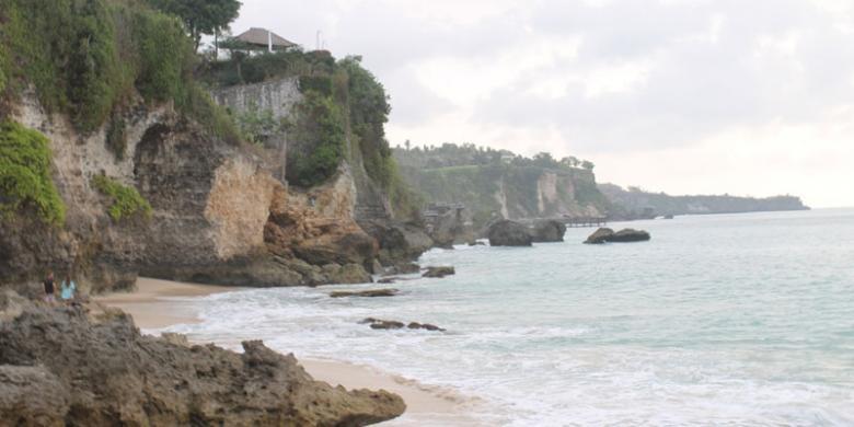 Pantai Tegalwangi Kecantikan Tersembunyi Di Jimbaran Kompas Com