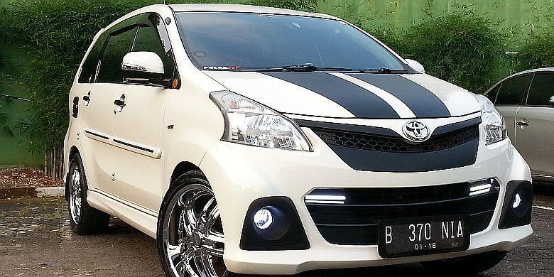 620 Koleksi Modifikasi Mobil Avanza Warna Putih HD Terbaru