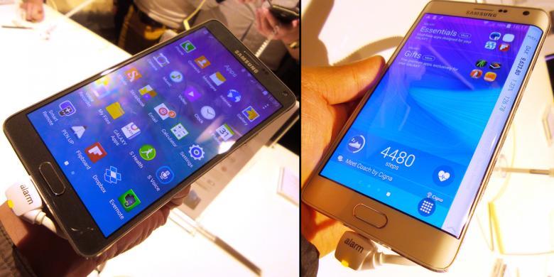 Tersedia Mulai Oktober Harga Galaxy Note 4 Dan Edge Masih Rahasia