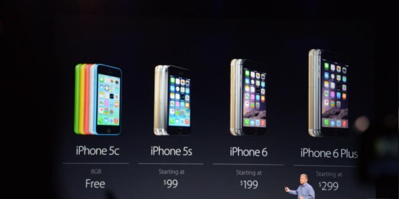 """Ini Daftar Harga iPhone 6 Versi """"Unlock"""" - Kompas.com 2e451b6184"""