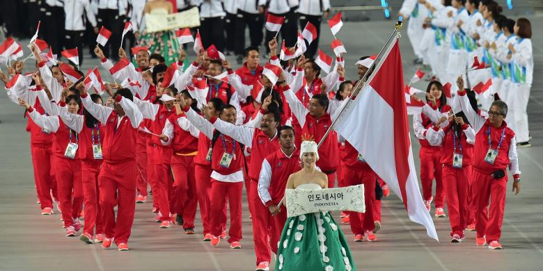 0103291Kontingen indonesia resized780x390 - Asian Games Terakhir Di Indonesia