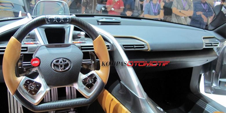 Toyota Ft 1 >> Adu Keren Toyota Ft 1 Vs Honda Nsx