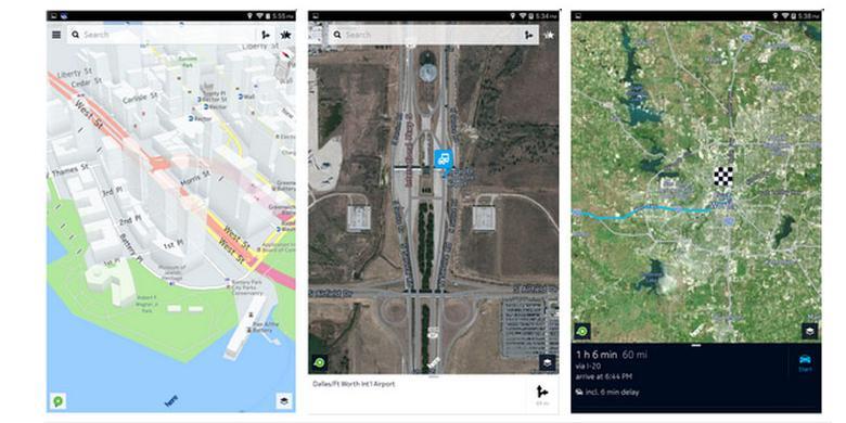 Tinggalkan Windows 10, Here Maps Pilih Android dan iOS