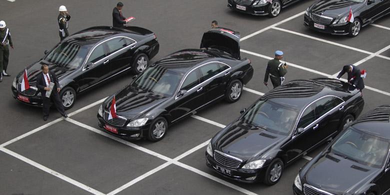 Mobil Mercedes Benz milik Istana Kepresidenan