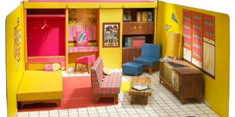 Ternyata Rumah Barbie Pertama Terbuat Dari Karton