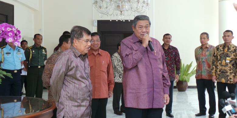 Jusuf Kalla dan SBY