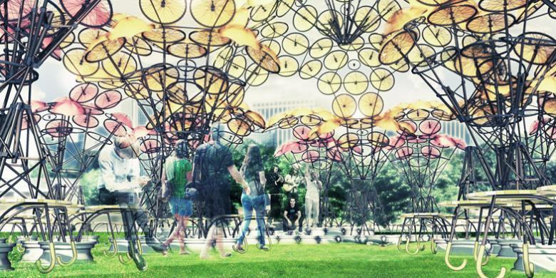 Dekorasi Panggung Dari Bahan Bekas | TulisanViral.Info