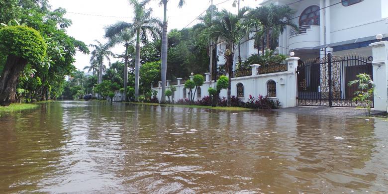 Ini Penyebab Kompleks Elite Ancol Barat Kebanjiran Kompas Com
