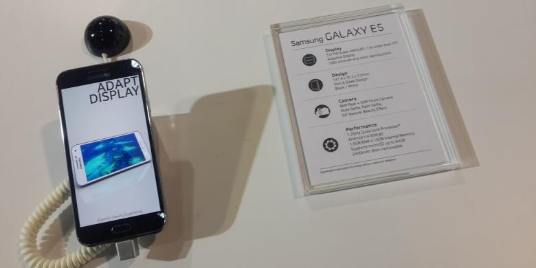 Samsung Ungkap Harga Galaxy E5 Dan E7 Di Indonesia Kompas Com