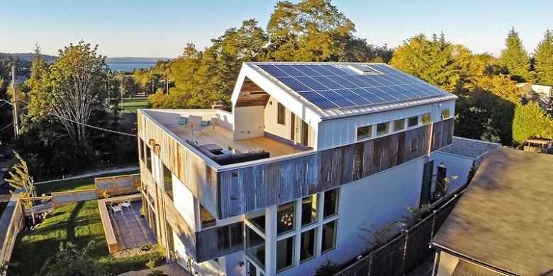 Rumah Hemat Energi Ini Terbuat Dari Bahan Bekas Kompas Com