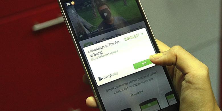 Begini Cara Beli Aplikasi Android Pakai Pulsa Telkomsel Kompas Com