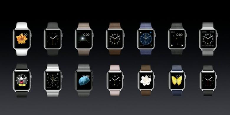 Beragam Bahan Dan Warna Tali Pengikat Apple Watch