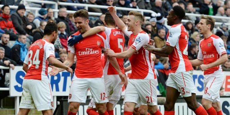 Crystal Palace Bertekuk Lutut Di Hadapan Arsenal