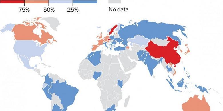 negara mana saja yang paling tidak beragama di dunia kompas com rh internasional kompas com agama paling banyak penganutnya di dunia agama apakah yang paling banyak penganutnya di dunia