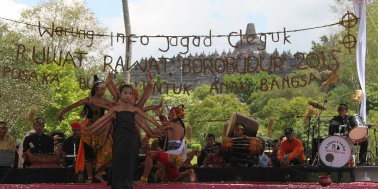 Lestarikan Seni Budaya Ruwat Rawat Borobudur Digelar Kompas Com