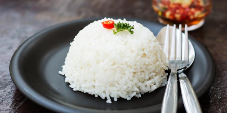 Hasil gambar untuk Nasi putih