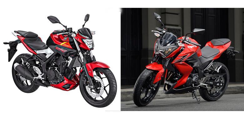 Membandingkan Yamaha Mt 25 Vs Kawasaki Z250 Kompas Com