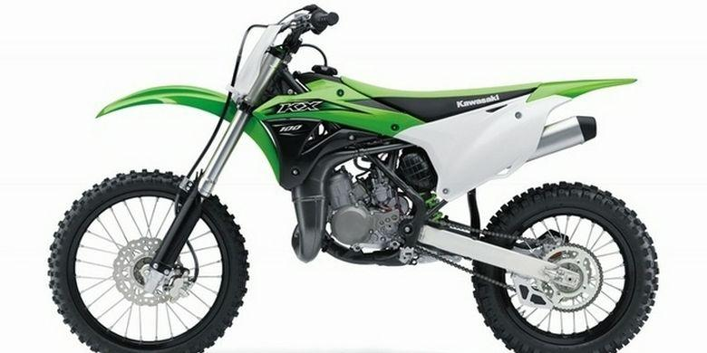 Kawasaki Luncurkan Trail 2-Tak 100 Cc - Kompas.com