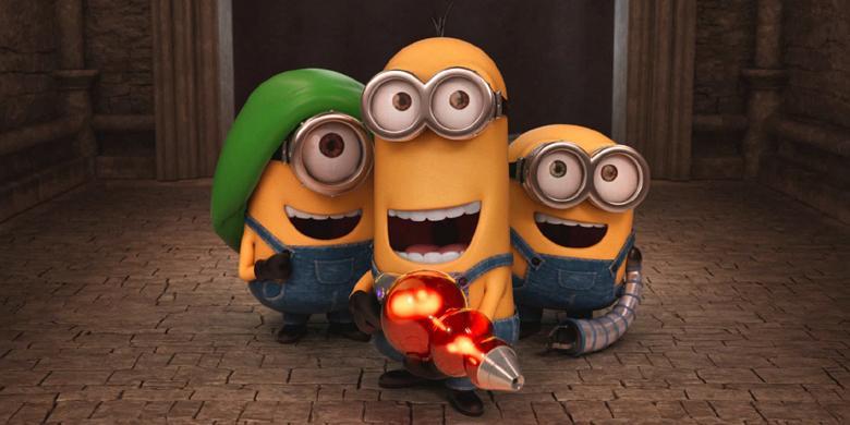 Minions Tiga Makhluk Kuning Bertualang Mencari Bos Halaman 1 Boneka