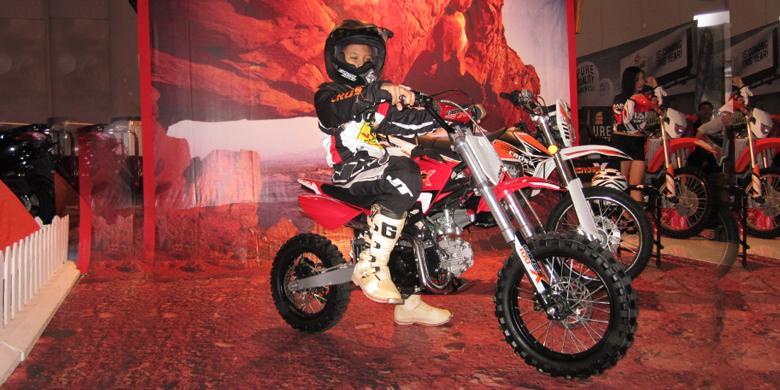 Sepeda Motor Trail Khusus Anak-anak dari Viar - Kompas.com