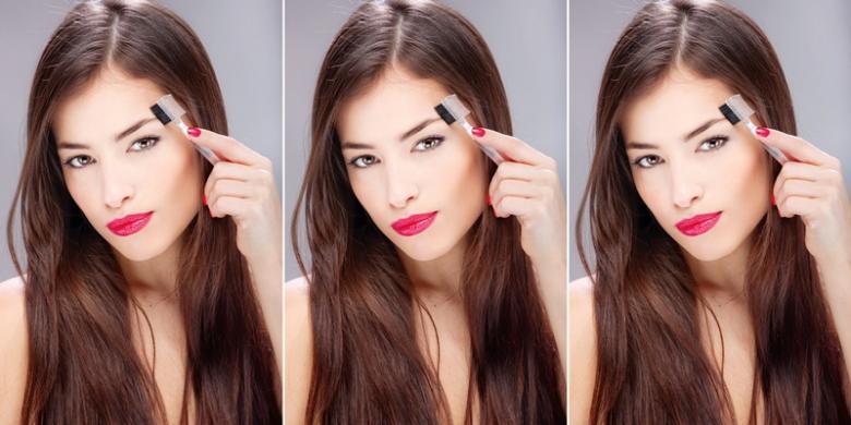 Bolehkah Mewarnai Alis Dengan Pewarna Rambut Kompas Com