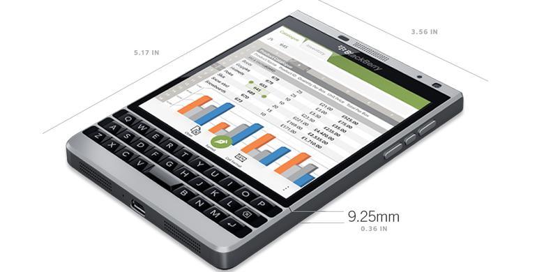 BlackBerry Resmikan Passport Versi Perak - Kompas.com 84d1301e7d