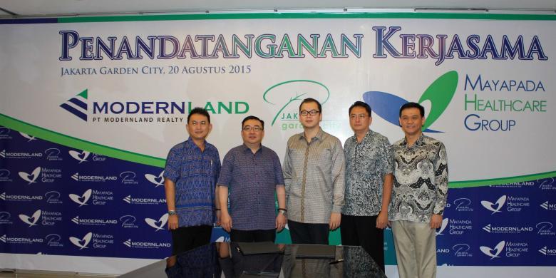 Mayapada Group Pastikan Bangun Rumah Sakit Di Jakarta Garden City