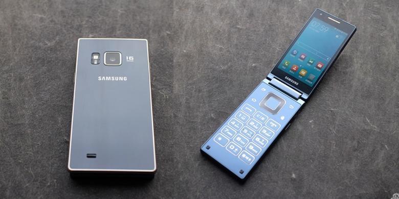 Penampakan Ponsel Android Lipat Samsung