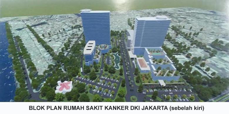 Rs Khusus Kanker Di Jakarta Akan Berdiri 25 Lantai Dengan 1 000