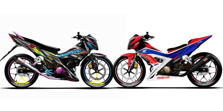 Nih Acuan Keren Buat Modifikasi New Honda Sonic Kompas Com