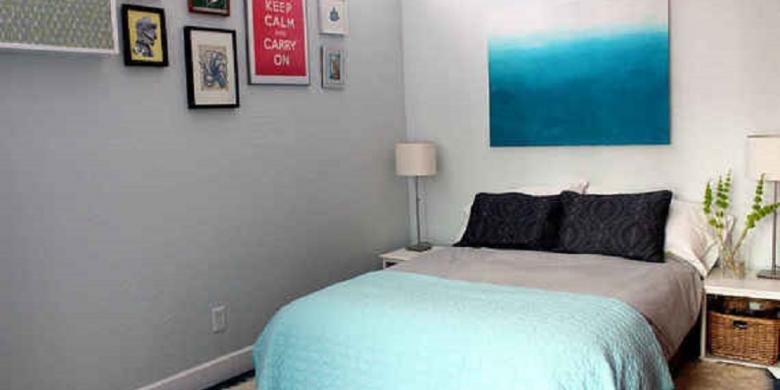 Desain Kamar Tidur Sempit Tanpa Jendela  lima cara membuat kamar sempit jadi lega
