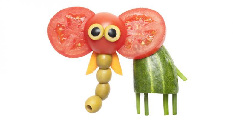 3 Kiat Besarkan Anak yang Tidak Takut Makan Sayur - Kompas.com fe9dead70d