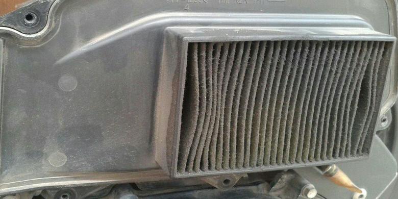 Hasil gambar untuk Kotornya filter udara