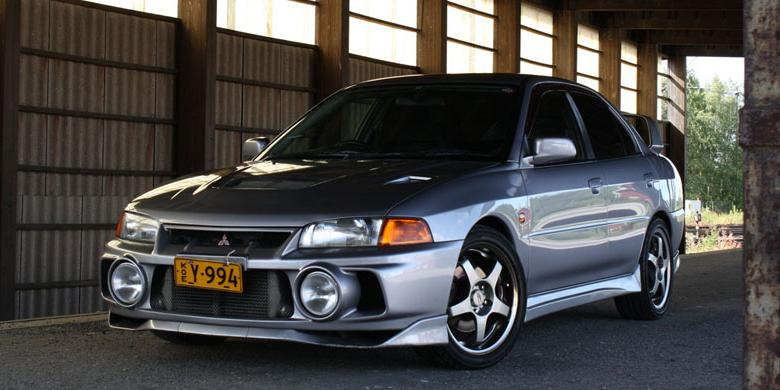 Mobil Modifikasi Mitsubishi Lancer Evo