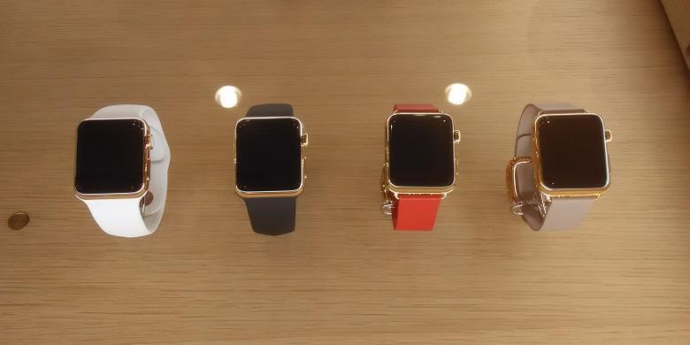 Apple Watch Edition Di Etalase IBox Flagship Store Mall Kota Kasablanka JakartaFatimah Kartini Bohang