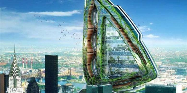 Tujuh Arsitektur Futuristik Paling Populer Ii Halaman All Kompas Com