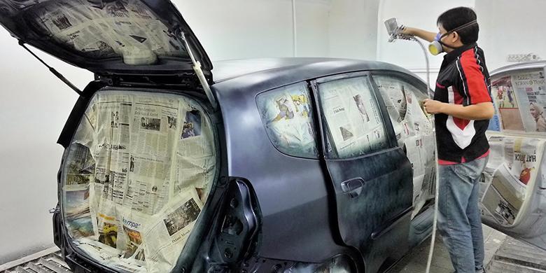 Berapa Biaya Cat Oven Untuk Mobil