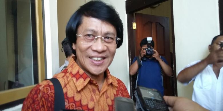 Kak Seto saat di PN Denpasar